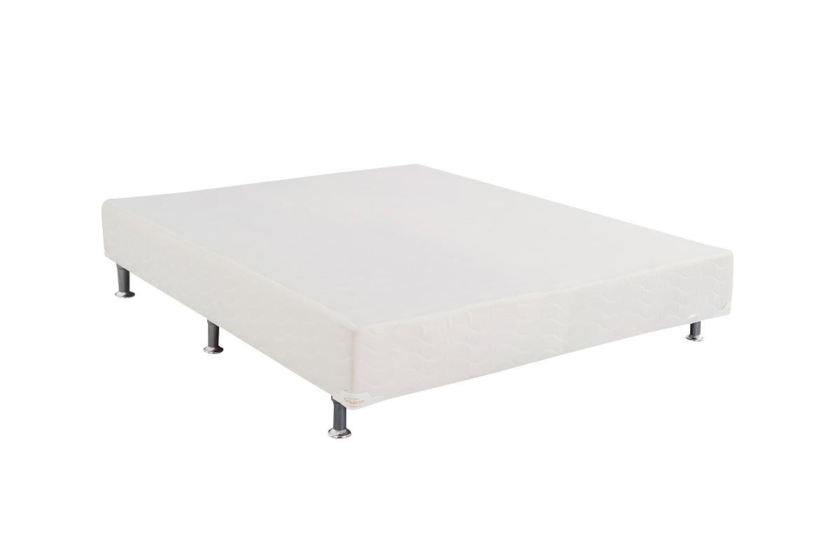 Cama Box Base Ortobom Light  Branco 24